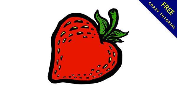 【草莓素材】強烈推薦:11套細緻的草莓素材下載
