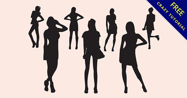 【女人剪影】強烈推薦:11張高質量的女人剪影下載
