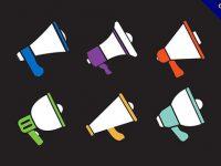 【大聲公icon】強烈推薦:16個優質的大聲公icon圖案下載