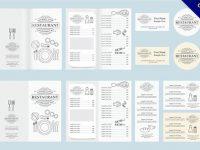 【menu設計範本】強烈推薦:24個精細的menu設計範本下載