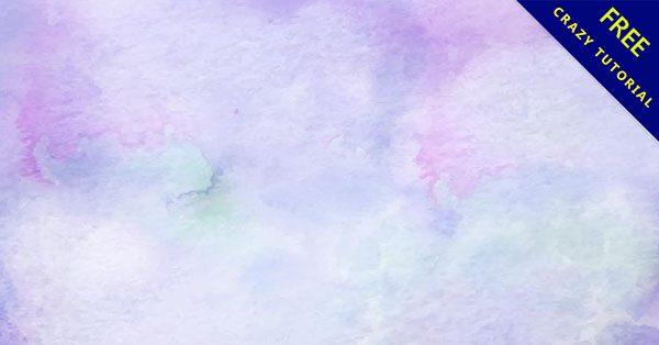 【水彩渲染背景】必須收藏的12套精緻的渲染水彩背景下載