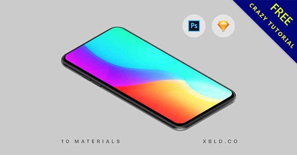 【手機模板】10種適合展示的手機模板下載,商業使用推薦