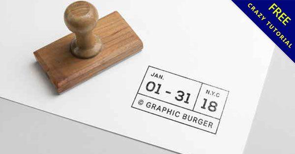 【印章模板】免費橡皮印章模板PSD下載,自己做印章吧