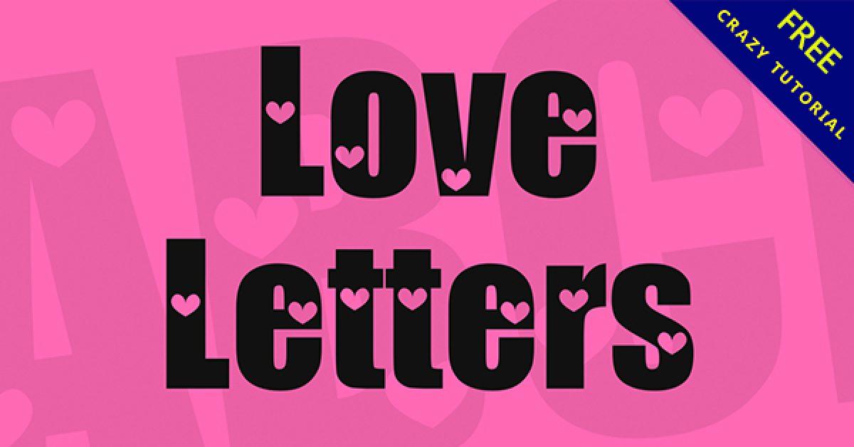 浪漫字體下載,20款浪漫唯美字體推薦