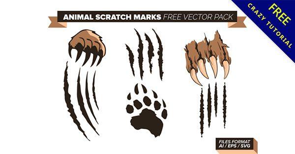 【爪痕素材】精選13款抓痕的爪痕素材下載