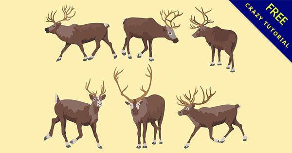 【麋鹿q版】精選14款完美的q版麋鹿下載