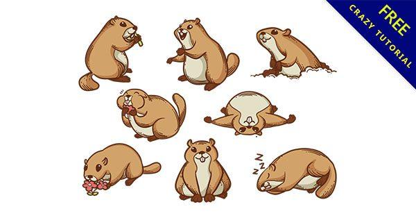【松鼠卡通】精選15個可愛的卡通松鼠圖下載