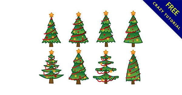 【手繪聖誕樹】精選15款可愛的聖誕樹手繪下載