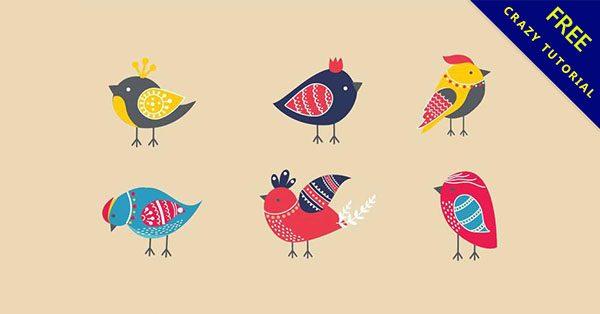【卡通鳥】精選21套可愛的鳥卡通圖下載