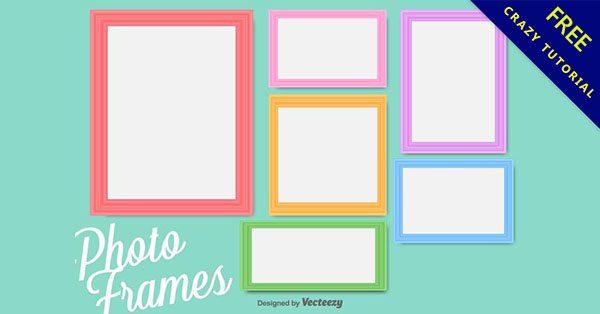 【畫框素材】精選21款可愛的畫框素材下載