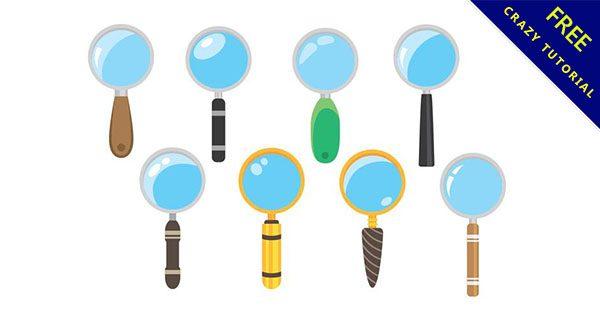【放大鏡素材】美編必備的15套有設計感的放大鏡素材下載