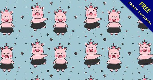 【豬素材】美編必備的17張可愛的豬素材下載