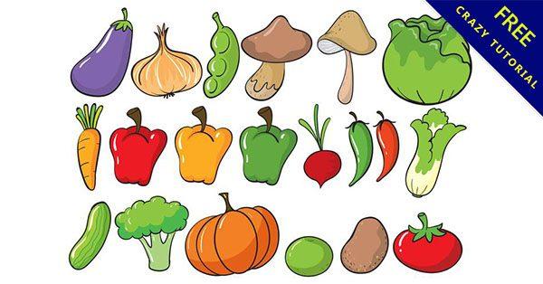 【蔬菜水果圖】美編必備的31套可愛的水果蔬菜圖下載