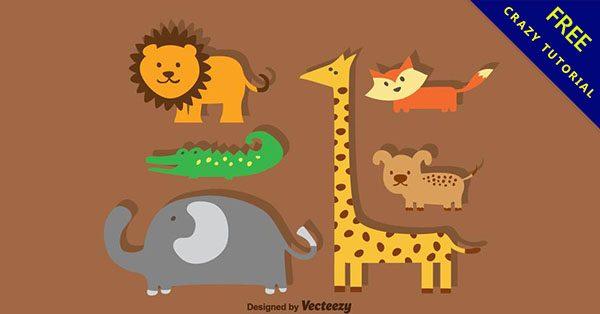 【動物素材】設計人都需要的40個高質量的動物素材下載