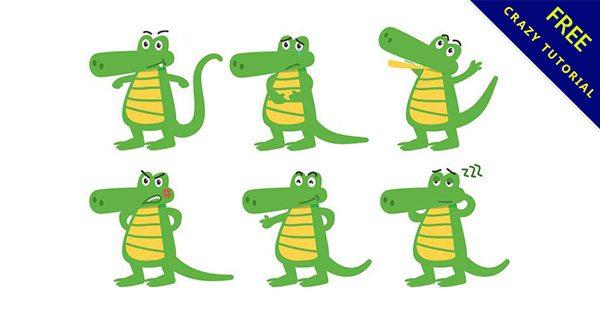 【鱷魚q版】小編推薦:12套可愛的q版鱷魚下載