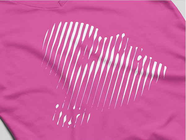 免費女生T-Shirt模板 下載