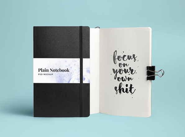 免費筆記本設計模板 下載
