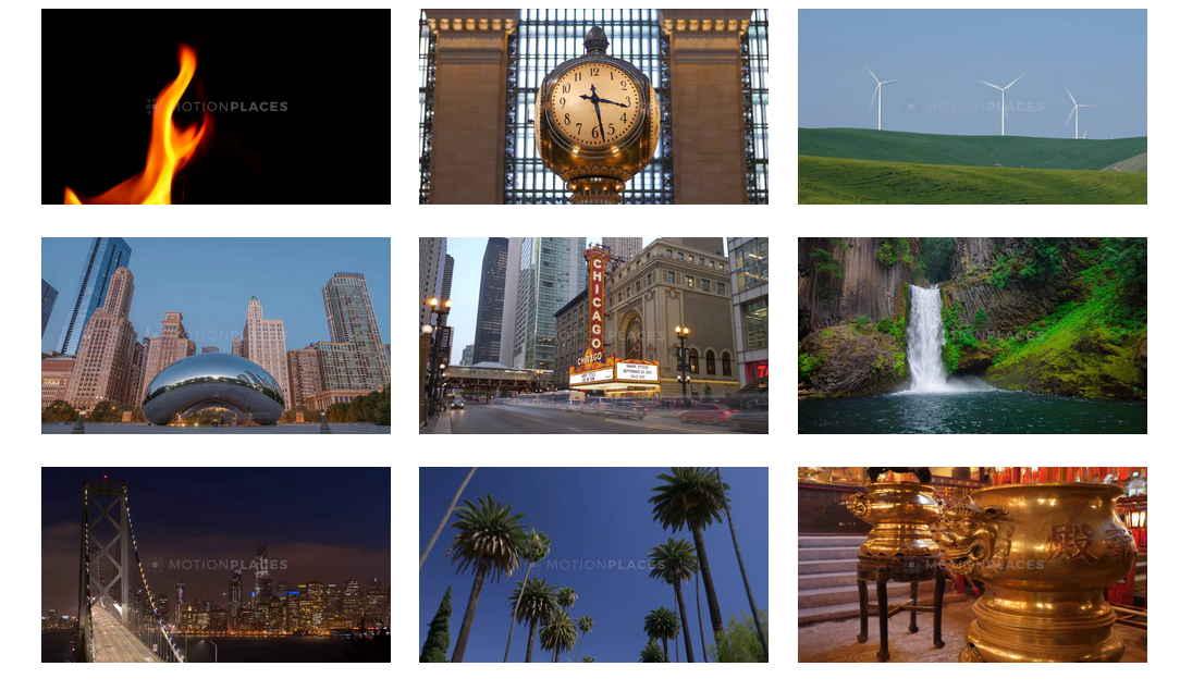 專門提供一些片段式的影片素材,有世界各個角落不一樣的影片素材