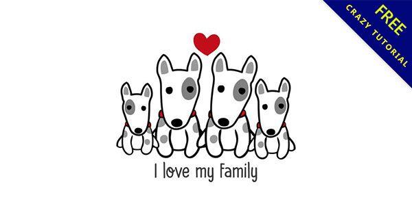 【可愛狗狗卡通圖案】22款可愛狗狗卡通圖案下載