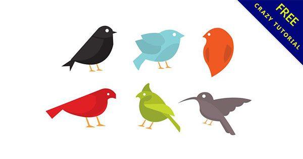 【鳥素材】強烈推薦:22款可愛的小鳥素材下載