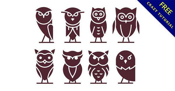 【貓頭鷹圖騰】7款可愛的貓頭鷹圖騰下載