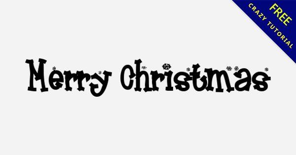7款 Merry Christmas 字體下載,聖誕節字體推薦
