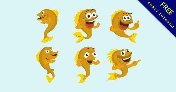 【卡通金魚】9個可愛的金魚圖案下載