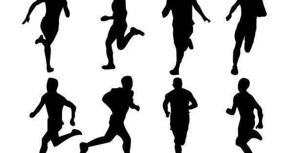 【跑步剪影】創作時必使用的10套精美的跑步剪影下載