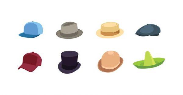【帽子圖案】28張有設計感的帽子素材圖案下載