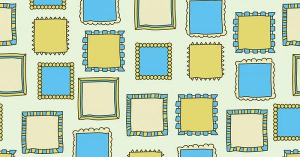 【框框素材】16套可愛的框框圖案素材下載