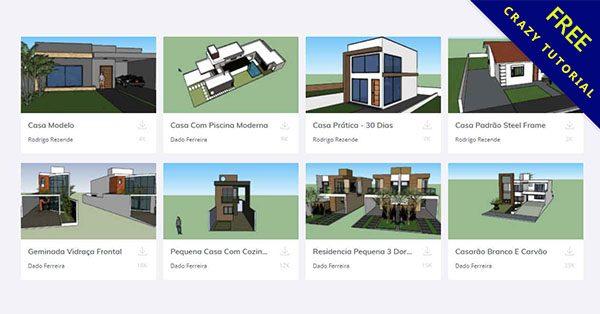 免費Sketchup模型下載,3D模型庫一鍵匯入