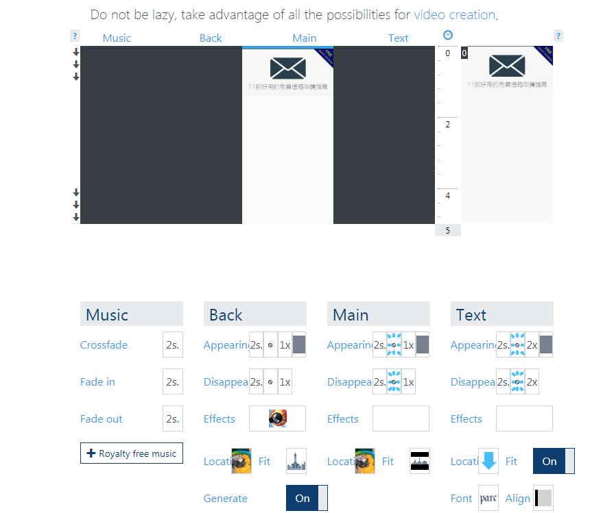 這是一款網頁版的免費剪輯軟體,只要開啟瀏覽器就可以使用,線上快速編輯