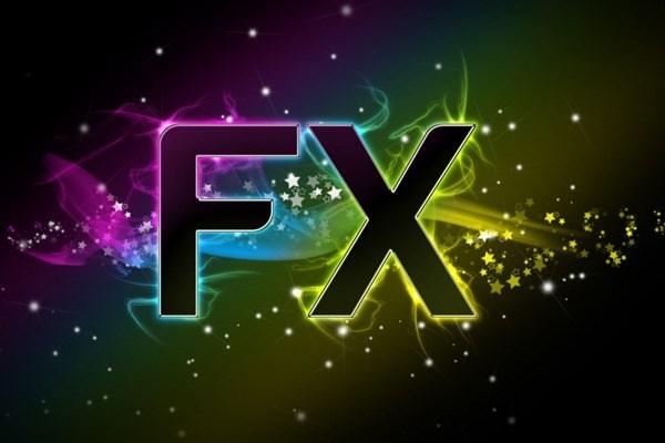 利用PS的漸變和一些簡單的元素所製作出來的字體設計