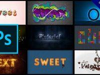 12個Photoshop字體設計教學,PS字體特效範例