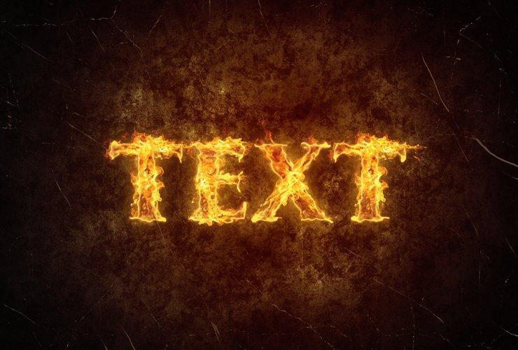 超酷的PS火焰字體設計,學會這個就真的超厲害