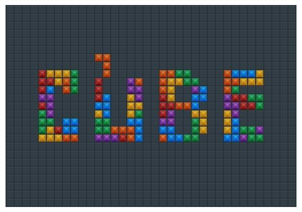 這大概是我看過最厲害的字體設計,製作過程的時間比較長,適合中階玩家