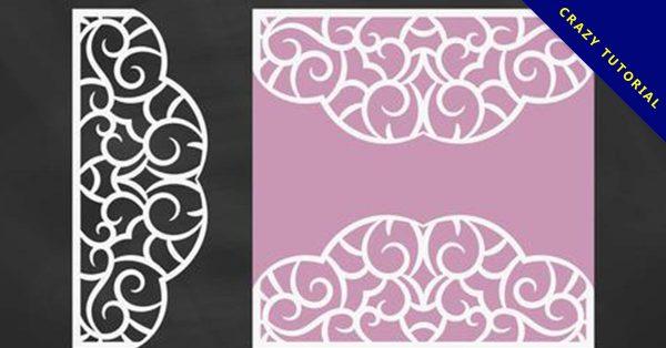 【剪紙花】21張窗花的剪紙圖案下載