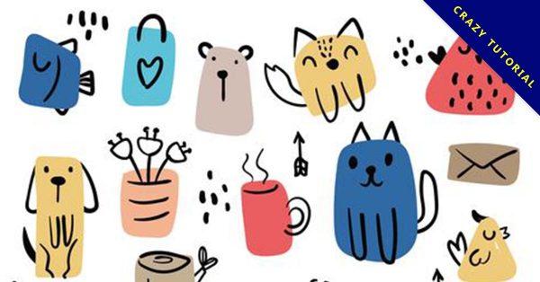 【動物插畫】嚴選推薦:38款可愛的動物插畫下載