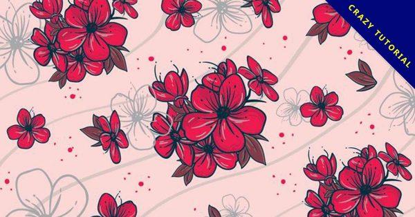 【玫瑰花背景】17套有設計感的玫瑰花背景下載