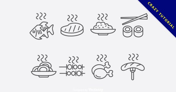 【食物Icon】美編人員都在找的52張優質的食物logo下載