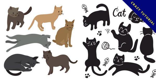 【q版貓咪】23個可愛的q版貓咪圖下載