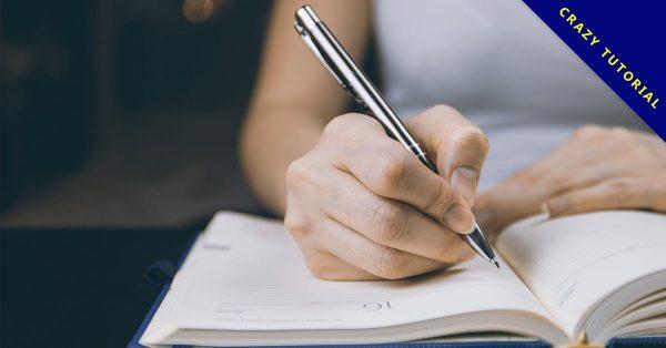 3款英文鋼筆字帖下載,PDF可印下來自己練習使用