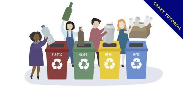 【回收標誌】環保推薦:22套優質的回收標誌符號下載