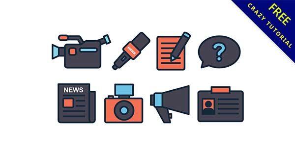 【新聞素材】免費推薦:25張可愛的新聞素材元素下載