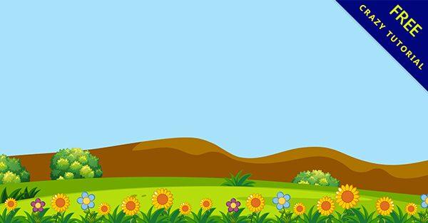 【草原背景】背景推薦:27款可愛的草原背景圖下載