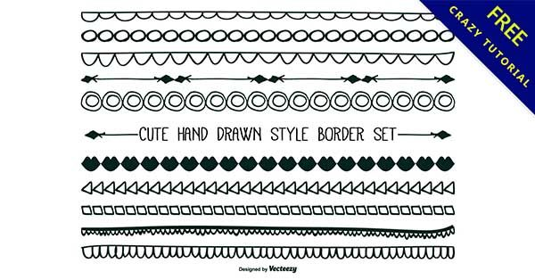 【邊框手繪】嚴選推薦:26款可愛的邊框手繪素材下載