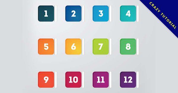 【項目符號素材】免費推薦:22套高質量的項目符號下載