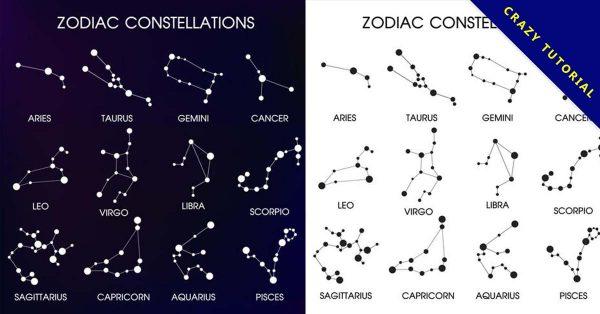 【12星座圖示】15款有代表性的星座圖示下載