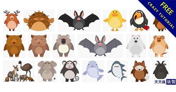 【可愛動物圖】小編推薦:51款Q版的可愛動物圖片下載