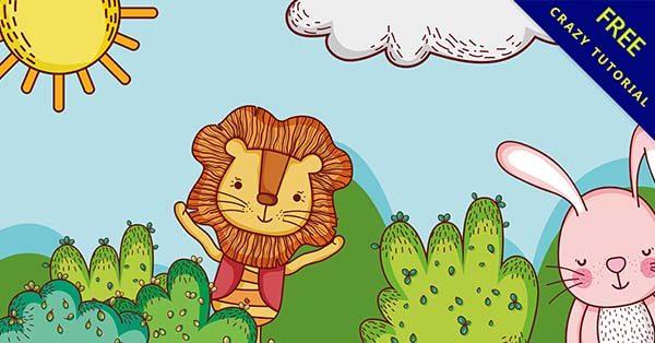 【可愛卡通圖】可愛推薦:68套手繪的可愛卡通圖素材下載